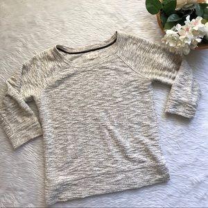 Lou & Grey Tweed Top